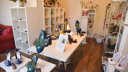The new Milly J Shoes store. Photo: Sonya Duncan