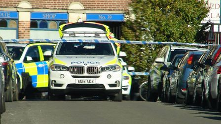 Police were called to an incident in Sussex Street area of Norwich. (Image: Baz)