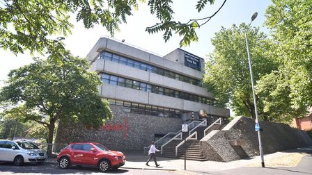 Archant Prospect House building on Rouen Road. Picture: ANTONY KELLY