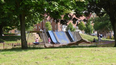 A boy has been robbed in the Jenny Lind Park in Norwich. Picture: DENISE BRADLEY
