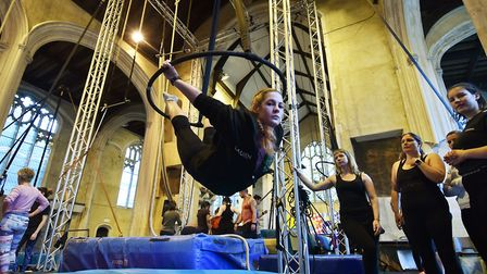 The Fly High Circus Convention at The Oak Circus Centre.Picture: ANTONY KELLY
