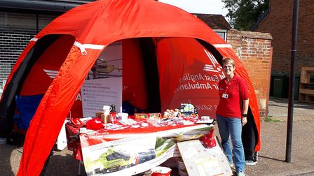 Gill Smith who volunteered with her partner Alan at Watton Carnival. Picture: EAAA