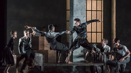Rambert's latest show 'Life is a Dream'. Photo: Johan Persson