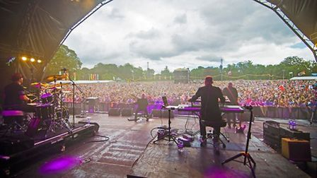15,000 fans turned out for the Let's Rock festival at Earlham Park last year. Picture: Let's Rock