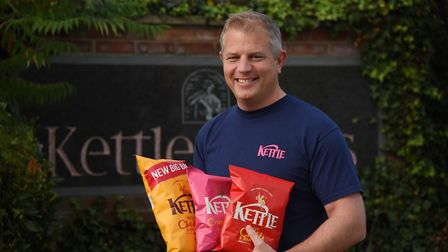 Ashley Hicks, managing director at Kettle Foods. The crisp maker is launching new charity packs in a