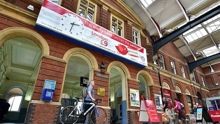 An M&S Simply Food store is set to replace the Pumpkin Cafe at Norwich Railway Station. Picture: ANT