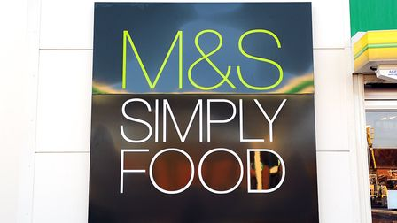 The new Marks and Spencer Simply Food shop at the BP garage in Acle.Picture: James Bass