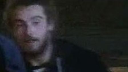 Police are hoping to track down this man after an incident of criminal damage in Norwich. Photo: Nor