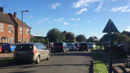 Westfield School in Watton has experienced problems with traffic and parking. Picture: Simon Parkin