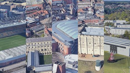 You can see Norwich landmarks in 3D on Google Earth. Photo: Google Earth