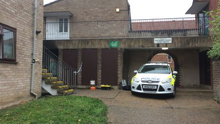Police have launched an arson investigation following a fire at a Norwich flat. Picture: Staff