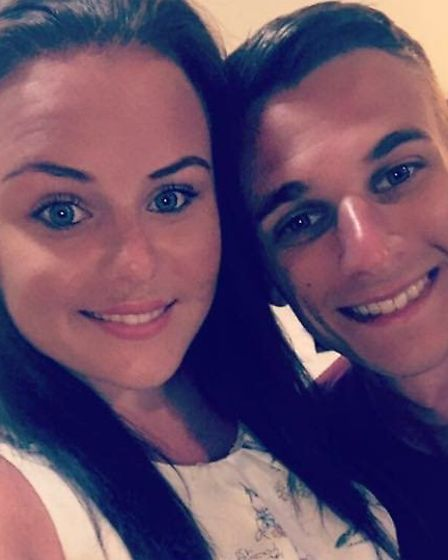 Kayleigh Armes, 25 and Tom Armes, 27 who live in Catton with their two children. Picture: Kayleigh A