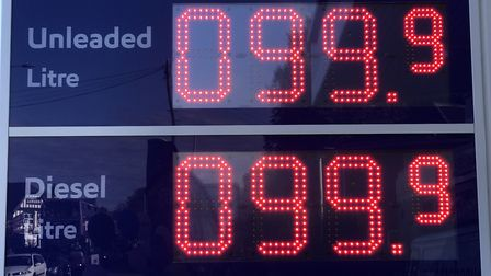 Esso garage on Aylsham Road was selling cheap petrol. Picture: Neil Didsbury