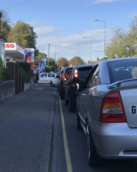 Esso garage on Aylsham Road was selling cheap fuel. Picture: Neil Didsbury