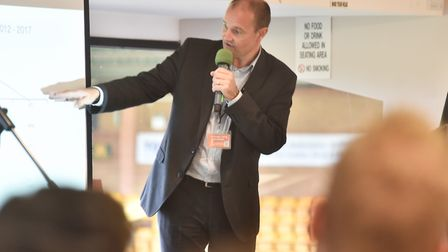 Norwich BID retail conference at Carrow RoadChris FowlerByline: Sonya DuncanCopyright: Archant 2018