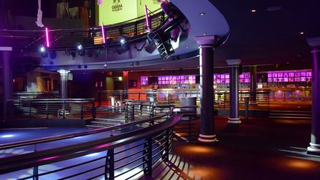Mercy nightclub. Picture by SIMON FINLAY.