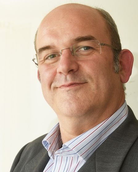 Stefan Gurney, chief executive of Norwich Business Improvement District. Pic: Nick Butcher.