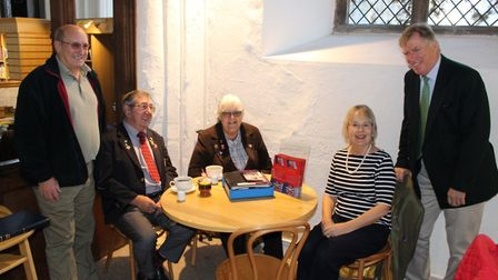 A Norfolk veterans group has reopened a drop-in centre in Norwich city centre. Photo: Veterans Norfo