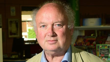 Launch of Write on Norfolk at Millennium Library. Louis de Bernieres.Picture: ANTONY KELLY