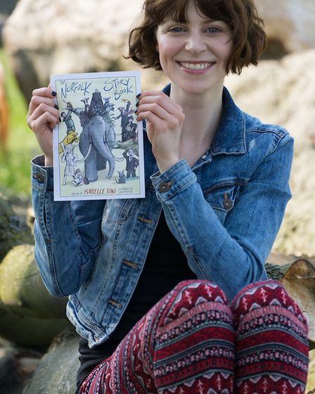 Children's author Isabelle King. PHOTO: Contributed by Wymondham Words