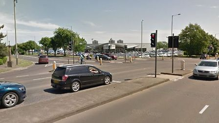 The junction between Drayton High Road and Boundary Road. Photo: Google