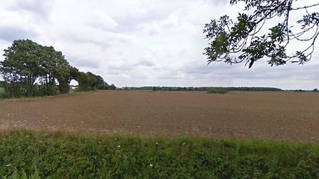 Police said the fire was in a field off of Long Road in Silfield. PHOTO: Google Maps