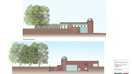 A new £1m mosque and community centre is to be built on land behind the former King Edward VII pub i