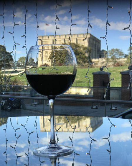 Vino with a view - new Italian wine cafe Veeno in the heart of NorwichPicture: Neil Didsbury