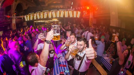 The Real Octoberfest 2017 at OPEN, Norwich. Photo credit ©Simon Finlay Photography.