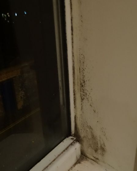 The flats have had a problem with mould, damp and heaters not working. Photo: Archant