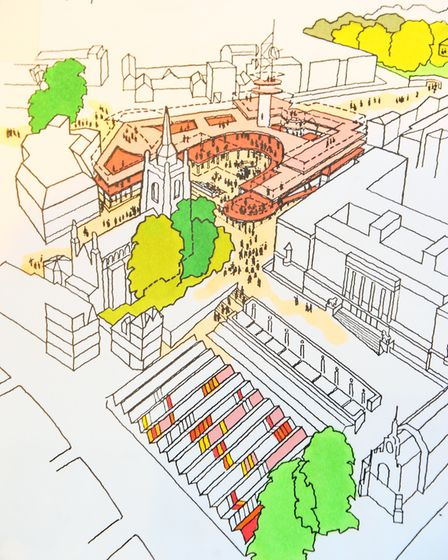 Drawn to Architecture - the four decades of work by LSI architect David Thompson on show in the Host