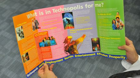 A previous idea for the former library site, Technopolis.Picture by SIMON FINLAY.