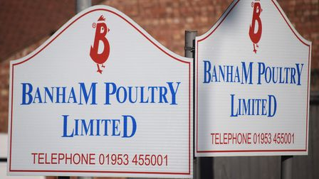 Two men were found dead at Banham Poultry factory in Attleborough. Picture: Denise Bradley