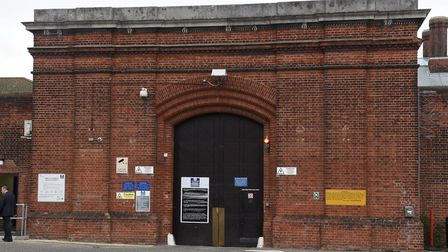 Protests are on the rise at Norwich Prison. Photo : Steve Adams