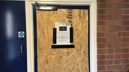A flat that was shut down by police in 2017 as part of Operation Gravity. Photo: Archant