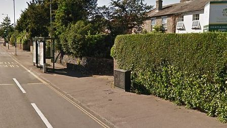 A woman waiting at a bus stop on Dereham Road in Norwich had a phone snatched by a man on a bike. Pi