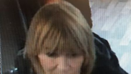 Police have issued a CCTV image of a woman they would like to speak to following a theft in Norwich.