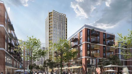 The revised plan for Anglia Square. Photo: Weston Homes