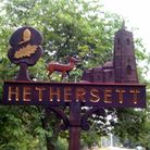Back Lane in Hethersett will be closed for four days for resurfacing. Picture: Archant.
