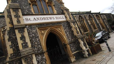 St Andrews / St Andrew's Hall. generic road / traffic / pedestrian areaPHOTO: ANTONY KELLYCOPY:FOR:E
