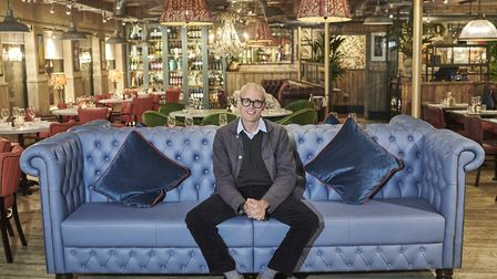 Bill Collison, owner of Bills, in the newly refurbished Norwich restaurant Credit: Mike Harrington