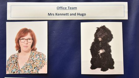 Hugo the Cockerpoo is the newest member of the class at Old Buckenham Primary School.Byline: Sonya D