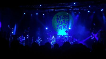 Less Than Jake co-headlining The LCR, UEA in Norwich. Photo: Hollie Crofts-Morris