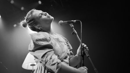 Elli Ingram supporting Tom Grennan at The LCR, UEA in Norwich. Photo: Danielle Booden