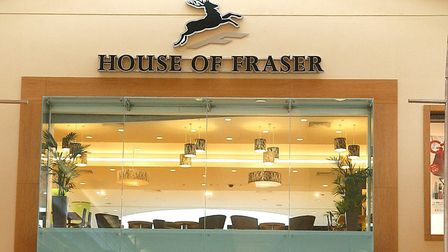 House of Fraser's unit in Chapelfield is one of the largest in the city, so finding a replacement te