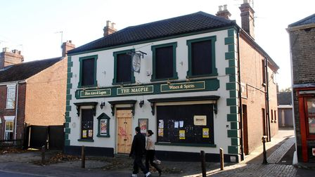 The Magpie pub on Magpie road, Norwich.