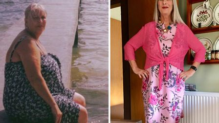 Tess Betts lost over 5 stone in one year. Photo: Slimming World
