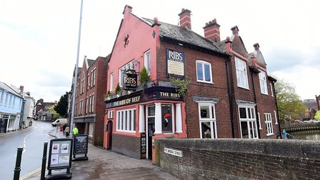 The Ribs of Beef pub, Wensum Street, Norwich. Picture: ANTONY KELLY