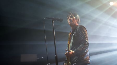 Johnny Marr headlining The Nick Rayns LCR in Norwich. Photo: Steve Hunt