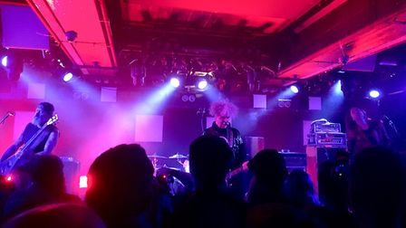 Melvins headlining The Waterfront in Norwich. Photo: Patrick Widdess